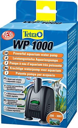 Tetra WP 1000 Wasserpumpe für Aquarien - Leistungsstarke Aquarienpumpe, mit Durchlfussregulierung, für eine optimale Wasserzirkulation und klares Wasser, 200 - 300 Liter