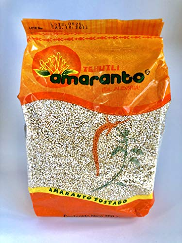 Directly from Aztec Lands! 250g Puffed Amaranth by Tehutli