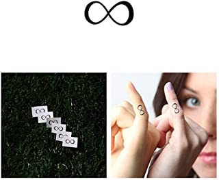 Tattify Tiny Infinity Temporary Tattoo - Forever (Set of 2) - Other Styles Available - Fashionable Temporary Tattoos