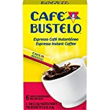 Café Bustelo Espresso Style Dark Roast Instant Coffee, 72 Count Single Serve Packets