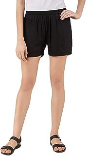 GIRLON Soft Rayon Shorts for Women