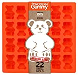 JUMBO size GUMMY BEAR Mold by the Modern Gummy, PROFESSIONAL GRADE PURE LFGB SILICONE, 24 cavity, Candy, Soap Molds, Gelatin Shots, Cupcake topper, Chocolate, Ice tray