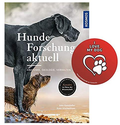 Kosmos Hunde-Forschung aktuell: Anatomie, Ökologie, Verhalten Hunde-Sticker von Collectix
