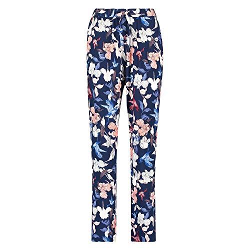 HUNKEMÖLLER Pyjamahose Woven Floral Rose S