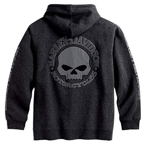 HARLEY-DAVIDSON Hooded Skull Sweatshirt Herren Hoodie, 99107-18VM, L