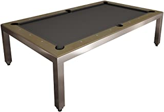 Aramith Alum Powder Coated Fusion Table w/Wood Top/Benches