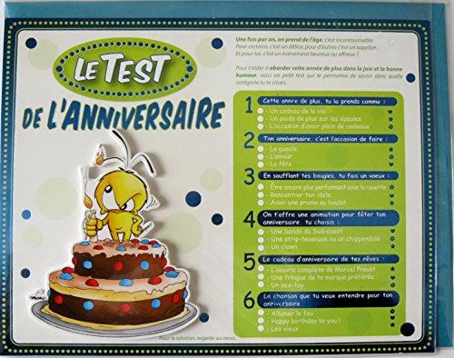 Le Test de l'anniversaire