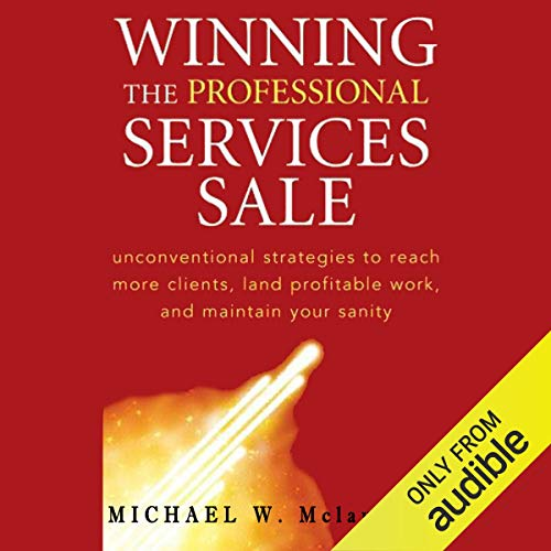 Page de couverture de Winning the Professional Services Sale