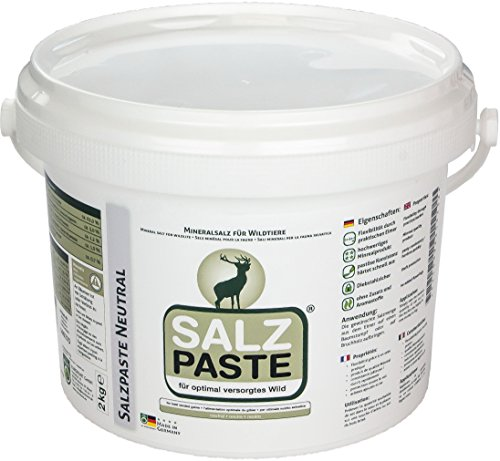 EUROHUNT Salzpaste Neutral 2 kg Eimer, 590223
