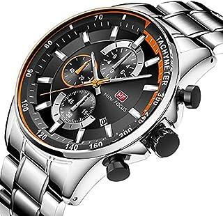 MINI FOCUS Men's Quartz Watches Stainless Steel
