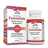 Terry Naturally Clinical Essentials - 60 Tablets - Multivitamin & Mineral Supplement with 30 Premium Nutrients, Gentle On The Stomach, No Vitamin Aftertaste - Non-GMO, Gluten-Free - 30 Servings