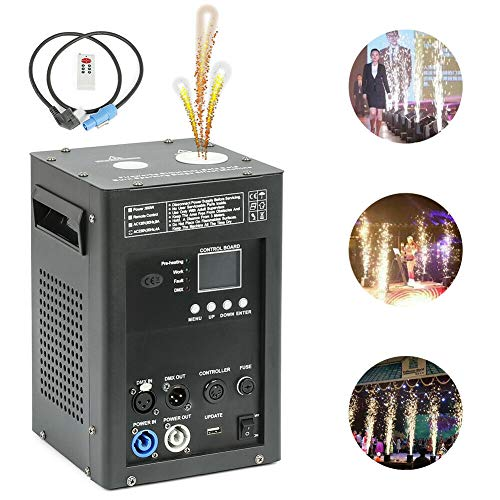 110V 500W Cold Spark Firework Machine Special Stage Effect Machine for Stage Events