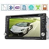"""EINCAR Win8 6.2""""in Stereo Dash Doppio DIN Nuovo Quadro Dvd GPS SAT NAV Touchscreen Supporto alla Navigazione Bluetooth/RDS/subwoofer/Sistema di parcheggio Controllo del Volante"""