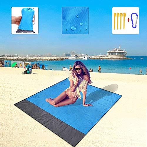 LYITP Stranddecke Strandmatte wasserdichte Strandtuch sandabweisende
