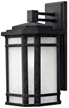 Hinkley 1274VK Craftsman/Mission One Light Wall Mount from Cherry Creek collection in Blackfinish,