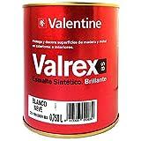 Valentine Valrex Esmalte Sintético Brillante Blanco Nieve 750 ML