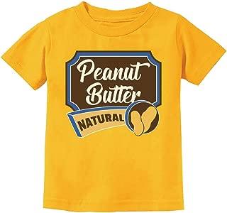 Peanut Butter Cute Easy Halloween Costume Toddler Kids T-Shirt