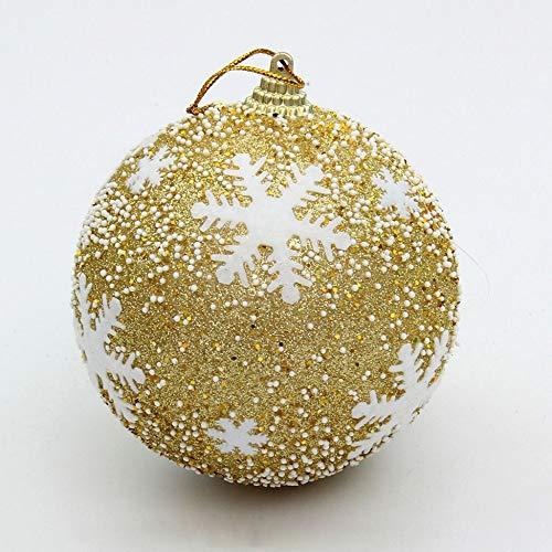 Triamisu Decoración Redonda de Moda del árbol de Navidad Decoraciones de Adornos de Adornos de Bolas Colgantes...
