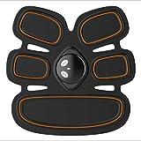 ElectroestimuladorMuscular Abdominales Abs Trainer Abs Simulator HURRISE Estómago Cinturón de tonificación, Abdomen Smart Muscle Trainer Equipo de entrenamiento portátil para el hogar / oficina Apoya