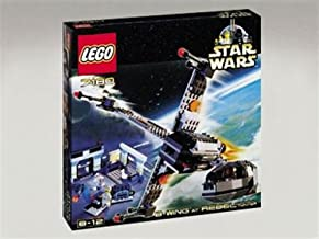 LEGO Star Wars 7180 B-Wing Fighter at Rebel Control Center