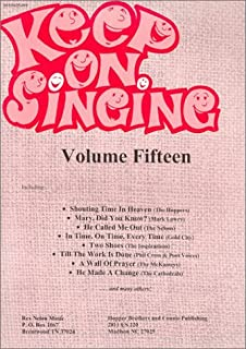 Keep on Singing: Volume 15