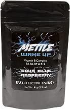 Energy Drink Powder - 25 Servings   Sugar Free   200mg Caffeine - Mettle Energy Drink Mix (Sour Blue Raspberry)