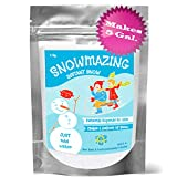 Snowmazing Premium Instant Snow Powder, Slime Supplies to Make Cloud Slime, Classroom Sensory Table, Holiday Décor, Artificial Fake Snow, 6oz. Makes 5 GALLONS, Just Add Water