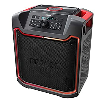 ION Pathfinder 4 Bluetooth Portable Speaker with Wireless Qi Charging  Renewed
