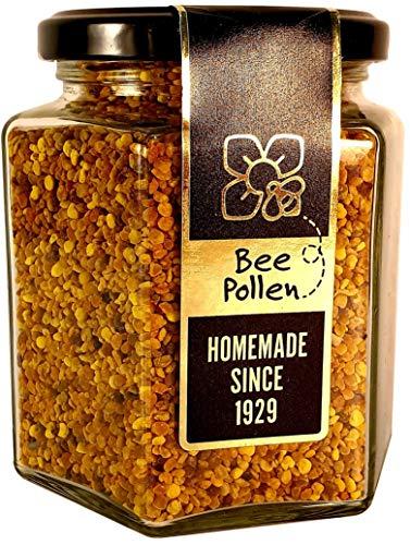 Bijenpollen 270g – Onbewerkt en op natuurlijk verantwoorde wijze geoogste Superfood. Bevordert de vitaliteit en het immuunsysteem. Verpakt in duurzaam, recyclebaar materiaal.