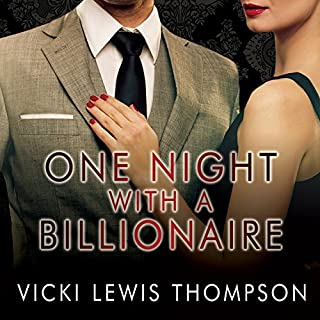 One Night with a Billionaire audiobook cover art