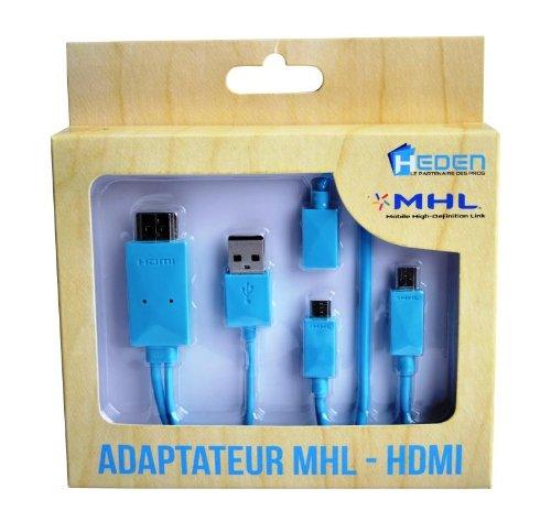 Heden CABMICAHDM - Cable HDMI (para conectar el teléfono o tablet ...