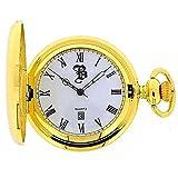 BOXX M5096.02 - Orologio da tasca, cinturino in metallo colore oro