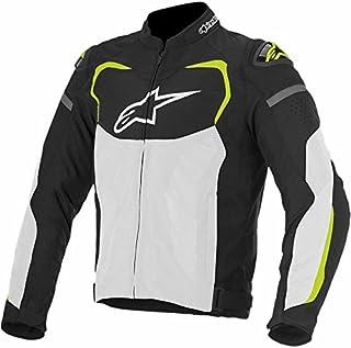 Alpinestars 3305116-125-S- chamarra para hombre, talla S, color negro, blanco y amarillo