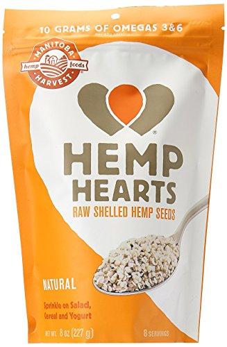 MANITOBA - Natural Hemp Hearts - 8 oz. (227 g)