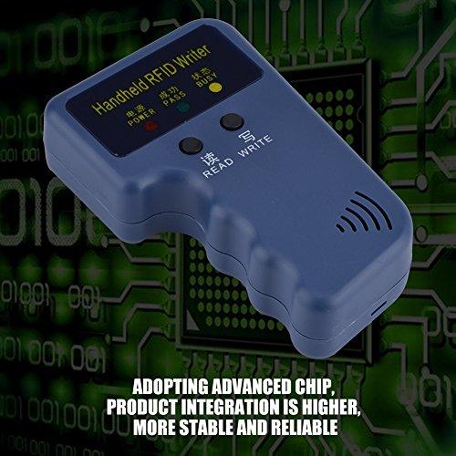 Redxiao Tragbarer Mini-ID-Kartenkopierer, RFID-Kopierer, Chip-Reader-RFID-Kopierer, für das Community School Office