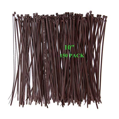 10 zip ties - 9