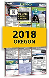 2019 Oregon All In One Labor Law Posters for Workplace Compliance