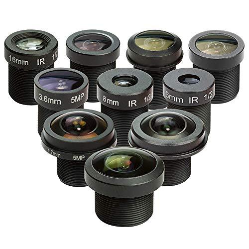 Arducam M12 Objektiv-Set für Arduino und Raspberry Pi Kamera