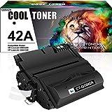 Cool Toner Compatible Toner Cartridge Replacement for HP 42A Q5942A 42X Q5942X Q1338A for HP Laserjet 4250 4200 4350 4300 4250N 4240 HP 4350N 4250TN 4250DTN 4350DTN 4350TN Printer Ink (Black, 1-Pack)