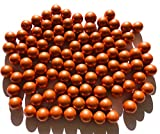Rhinestone Paradise 500 g más de 90 canicas naranjas de cristal, bolas decorativas de 16 mm, color verde