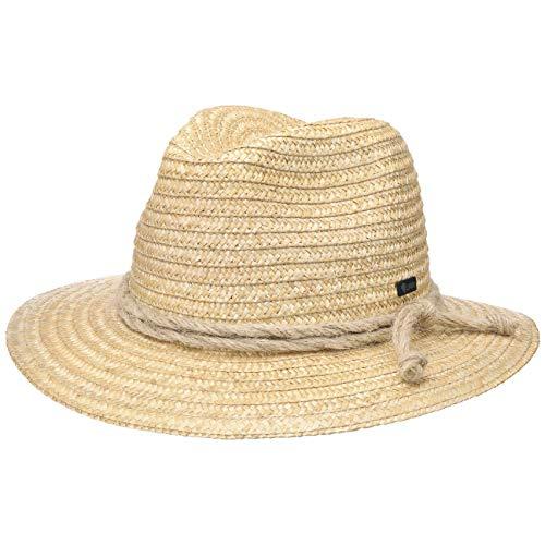 Lipodo Tiroler Strohoed Dames/Heren - Made in Italy zonnehoed zomer hoed strand voor Lente/Zomer