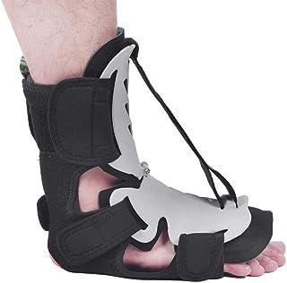Semme Ortesis de caída de pie Ajustable Tobillo Corrector de Postura Corrección de Tirante Férula de Noche