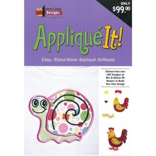 Amazing Designs APPLIQUE IT Embroidery Machine Software
