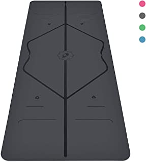 Liforme Yoga Mat Original - The World's Best Eco-Friendly, Non Slip Yoga Mat with The Original Unique Alignment Marker System - Biodegradable Mat Made with Natural Rubber & A Warrior-Like Grip