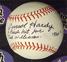 ted williams signed baseball worth