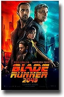 Blade Runner 2049 Poster - 11 x 17 Promo Movie Ryan Gosling Harrison Ford Main
