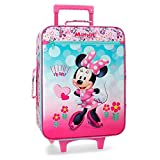 Disney Minnie Heart Bagage cabine 50 centimeters 31.5 Rose (Rosa)
