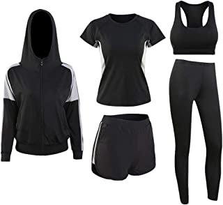 Yoga Sportswear, Girls Fitness Breathable Clothes Quick Drying Clothes Loose Plus Size Yoga Sportswear Gym Running Sports ...