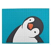 ペンギン 可愛 500ピースジグソーパズル 大人向け 減圧玩具 家の装飾 パズル 人気 パズルゲーム 知育おもちゃ