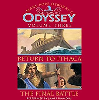 Tales from the Odyssey audiobook cover art